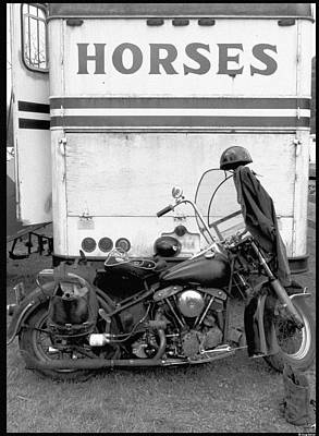 Iron Horse Art Print