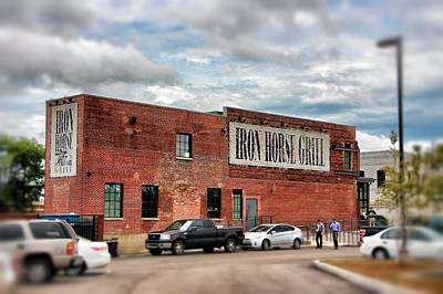 Photograph - Iron Horse Grill Building by Jim Albritton