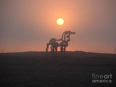Photograph - Iron Horse II by Reid Callaway