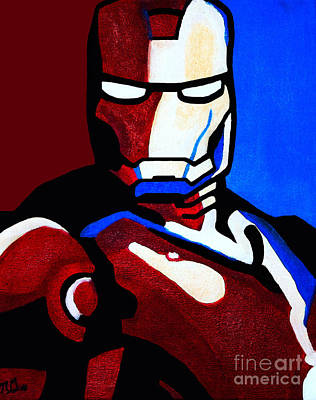 Painting - Iron Man 2 by Barbara McMahon