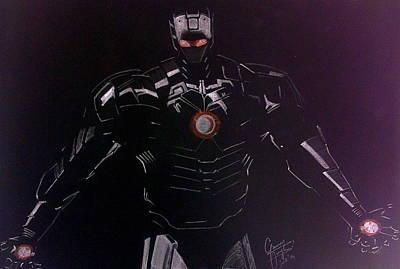 Iron Man Drawing - Iron Man by Gaurav Singh