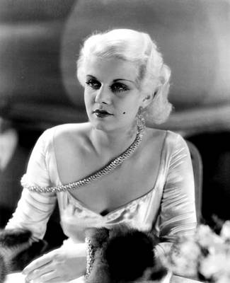 1930s Hairstyles Photograph - Iron Man, Jean Harlow, 1931 by Everett