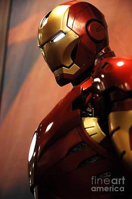 Iron Man Art Print by Micah May