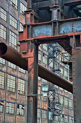 Photograph - Iron Mill by JAMART Photography
