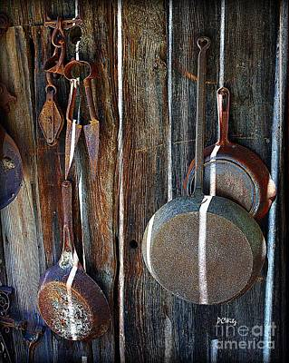 Photograph - Iron Skillets by Patrick Witz