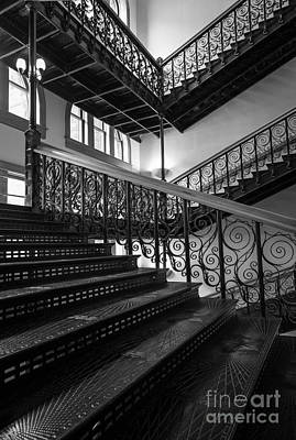 Iron Staircases Print by Inge Johnsson