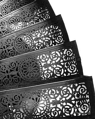 Iron Stairs Art Print