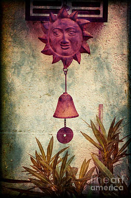 Photograph - Iron Sun With Bell by Silvia Ganora