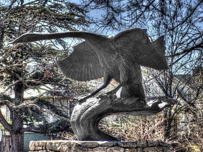 Hdr Photograph - Iron Swan 1 by John Straton