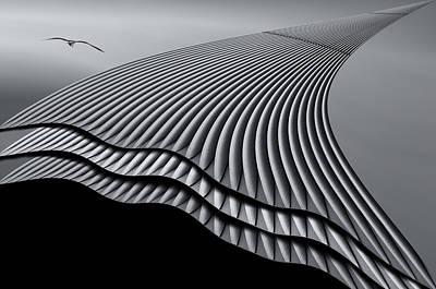 Iron Waves Original by Rodica Tanase