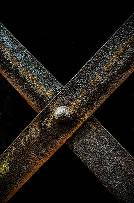 Photograph - Iron X by Anthony Doudt