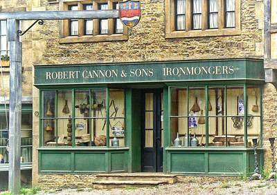 Ironmongers In Candleford Art Print
