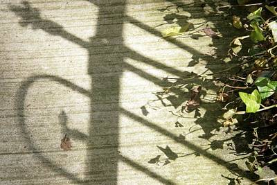 Photograph - Ironwork Shadow by Sharon Popek