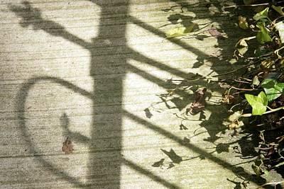Photograph - Ironwork Shadow by Sharon Popek
