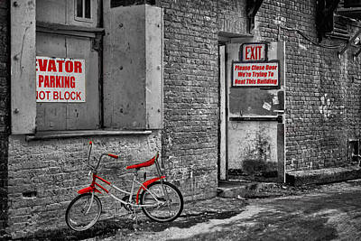 Photograph - Irony In The Alley by Nikolyn McDonald