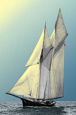 Photograph - Iroquois - Schooner Yacht by Jonah Gibson