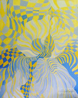 Painting - Irreverant Iris by Lizi Beard-Ward