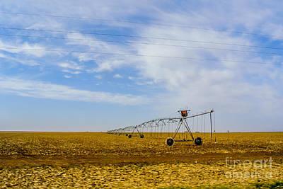 Ranch Photograph - Irrigation by Gib Martinez