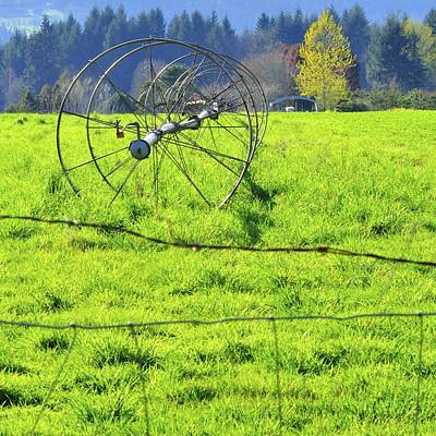 Jerry Sodorff Royalty-Free and Rights-Managed Images - Irrigation Line 22529 by Jerry Sodorff