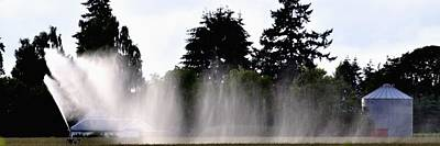 Jerry Sodorff Royalty-Free and Rights-Managed Images - Irrigation Sprinkler 25183 by Jerry Sodorff