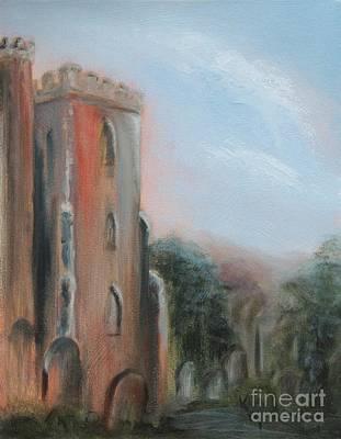 Painting - Irton Chruchyard by Kathy Lynn Goldbach