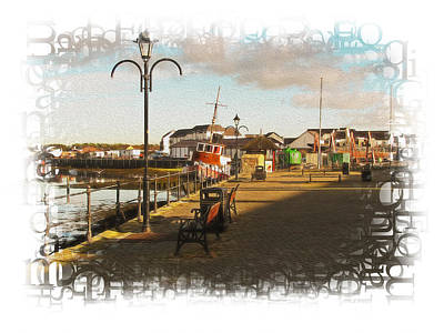 Photograph - Irvine Harbour by Fiona Messenger