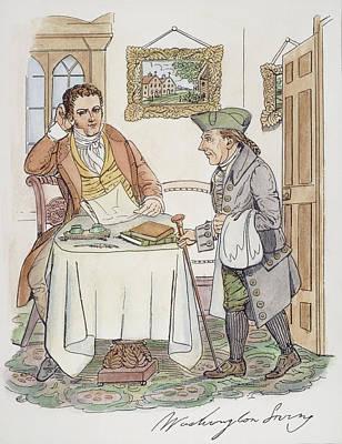 Irving & Knickerbocker Art Print by Granger