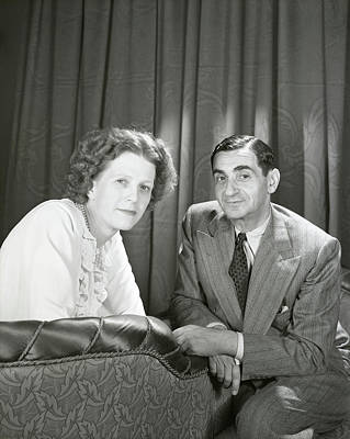 Irving Berlin And Ellin Mackay Berlin Art Print
