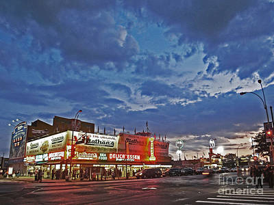Photograph - Is The Sun Setting On Coney Island? by Andy Prendy