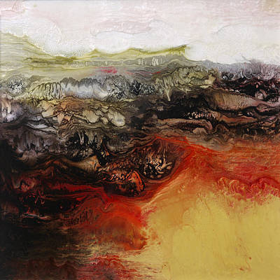 Painting - Is There Life On Mars Sold by Lia Melia