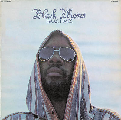 Hayes Digital Art - Isaac Hayes -  Black Moses by Concord Music Group