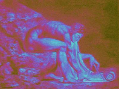 William Blake Digital Art - Isaac Newton By William Blake. Enhanced by Peter-hugo Mcclure