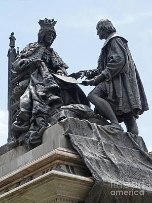 Art Print featuring the photograph Isabella And Columbus by Phil Banks