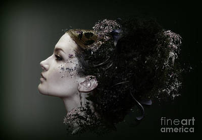 Kim Digital Art - Isabella by Kim Slater