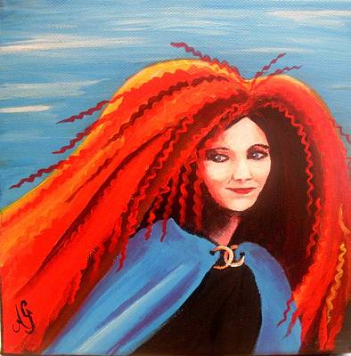 Painting - Isabella - Merida by Anne Gardner