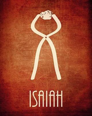 Isaiah Digital Art - Isaiah by Brett Pfister