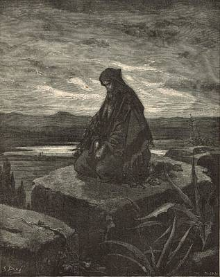 Yahweh Drawing - Isaiah by Antique Engravings