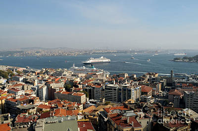 Photograph - Isanbul From Topkapi Palace by Haleh Mahbod
