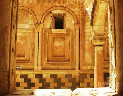 Ishak Pasha Palace Stone  Exterior Art Print by Cimorene Photography