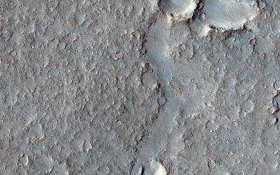 Isidis Planitia Art Print by Nasa/jpl-caltech/univ. Of Arizona