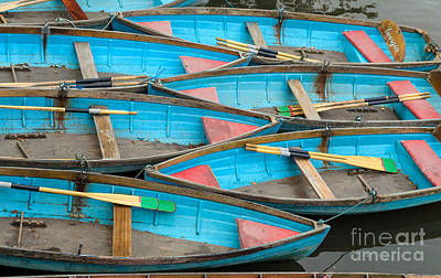 Isis Rowing Boats Art Print by OUAP Photography