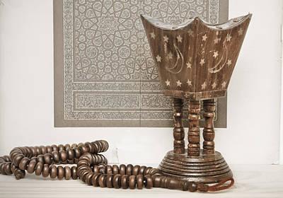 Rosary Photograph - Islam Still Life by Tom Gowanlock