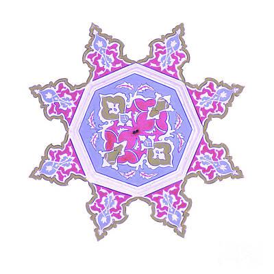 Soap Suds - Islamic art 06 by Antony McAulay