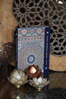 Photograph - Islamic Geometric Design - Book By Eric Broug by Murtaza Humayun Saeed