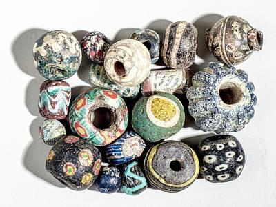 Islamic Glass Beads Art Print