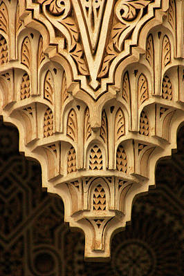 Islamic Plaster Work Art Print by PIXELS  XPOSED Ralph A Ledergerber Photography