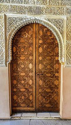 Jar Photograph - Islamic-style Doorway In Granada, Spain by Starcevic