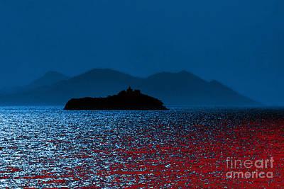 Digital Art - Island 1 by Leo Symon