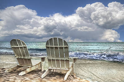 Delray Beach Photograph - Island Attitude by Debra and Dave Vanderlaan