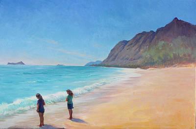 Painting - Island Breeze by Gwen Carroll